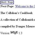 Callahan's Cookbook