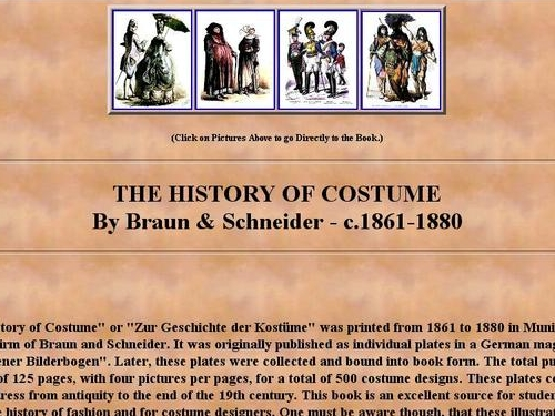 http://www.siue.edu/COSTUMES/history.html
