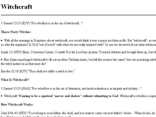 http://www.acts17-11.com/witchcraft.html