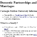 Collected Domestic Partner Information