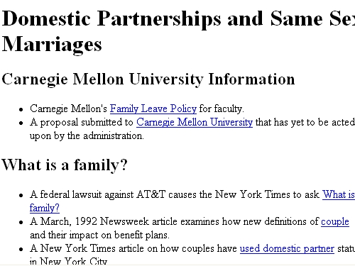 http://www.cs.cmu.edu/afs/cs.cmu.edu/user/scotts/domestic-partners/mainpage.html