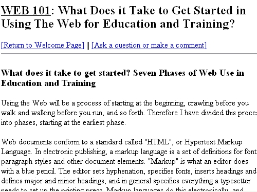 http://www.is.wayne.edu/web101/starting.htm