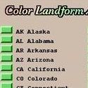 Color Landform Atlas of the United States