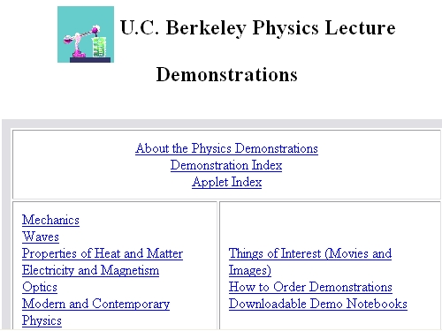 http://www.mip.berkeley.edu/physics/physics.html