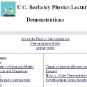 U.C. Berkeley Physics Lecture Demonstrations
