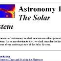 Astronomy 161: The Solar System