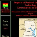 Ghana Information Infrastructure Main Page