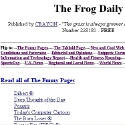The Frog Daily