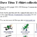 Davie Titius T-Shirt Collection