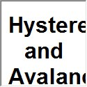 Hysteresis and Avalanches