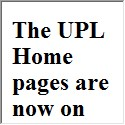 UPL Home Pages – We've Moved!