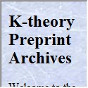 K-theory Preprint Archives